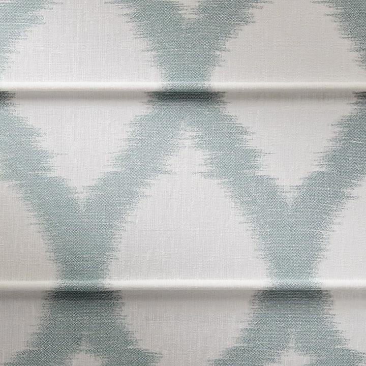 Design Studio Roman Shades in Colette Seasid
